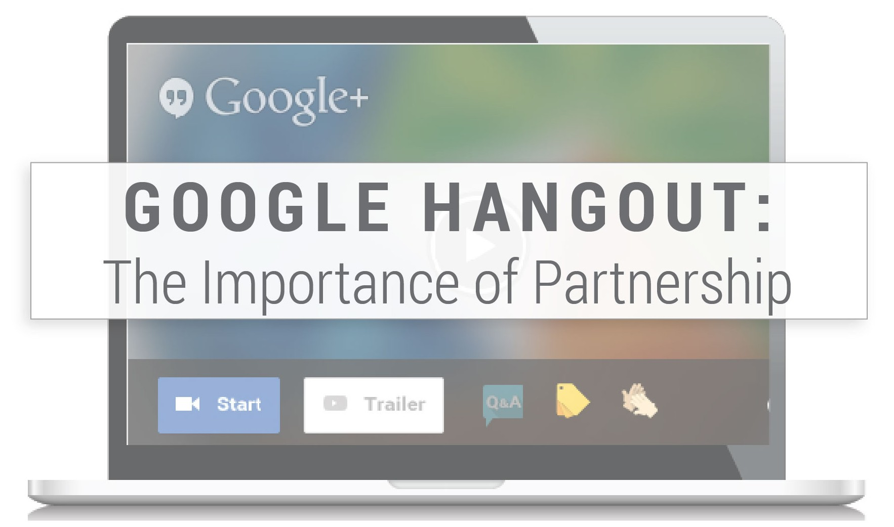 Google Hangout Partnership Invite 2015 03 14 - The Center